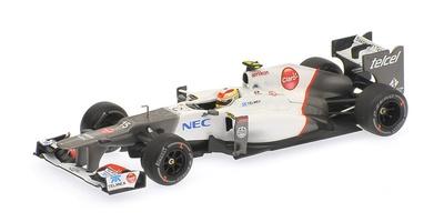"Sauber C31 ""GP. Malasia"" nº 15 Sergio Perez (2012) Minichamps 1:43"