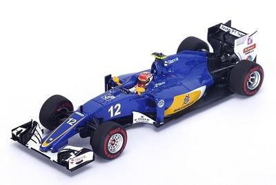 """Sauber C35 """"GP. Australia"""" nº 12 Felipe Nasr (2016) Spark 1:43"""