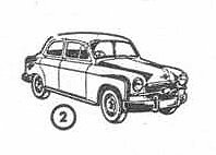 Seat 1400 A (1954) Mini-Cars 1/86