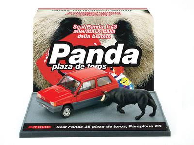 Seat Panda 35 (1980) Plaza Toros Pamplona Brumm 1/43 (descatalogado)