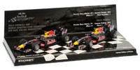 Set 2 Red Bull RB6 Sebastian Vettel y Mark Webber (2010) Minichamps 1/43