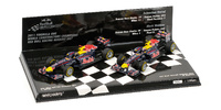 "Set 2 Red Bull RB7 ""Título de Constructores""' (2011) Minichamps 1:43"