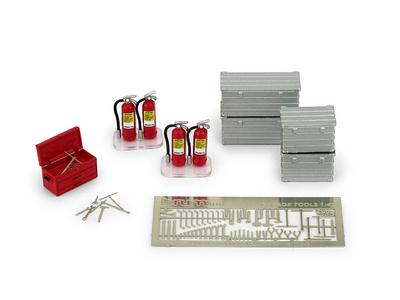Set Cajas Herramientas y Extintores (1982) Brumm 1:43