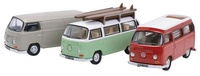 Set de 3 Volkswagen T2 (1974) Oxford 1/76