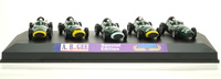 Set de 5 Vanwall de Stirling Moss (1958) Brumm 1/43