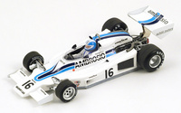 "Shadow DN8 ""GP. Long Beach"" nº 16 Renzo Zorzi (1977) Spark 1/43"