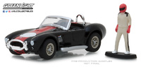 Shelby Cobra con figura de piloto (1965) Greenlight 1/64
