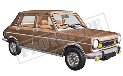 Simca 1100 TI (1974) Norev 1/18