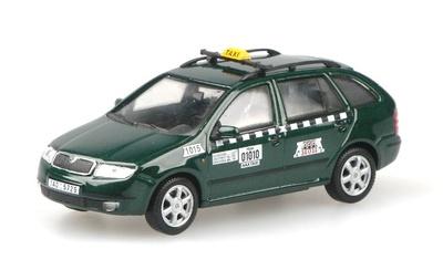 """Skoda Fabia Combi """"AAA Taxi"""" (2000) Abrex 1/43"""