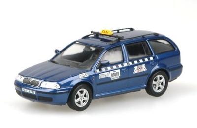 """Skoda Octavia Combi Tour """"AAA Taxi"""" (2004) Abrex 1/43"""