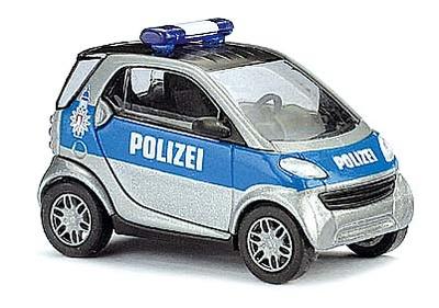 """Smart City Coupé Policía """"Hamburg"""" Busch 1/87"""