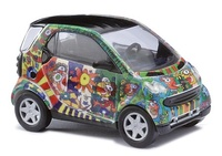 "Smart Fortwo ""Fischer Art Design 1"" (1998) Busch 1/87"