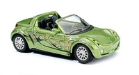 "Smart Roadster ""Crazy Cars"" (2003) Busch 1/87"