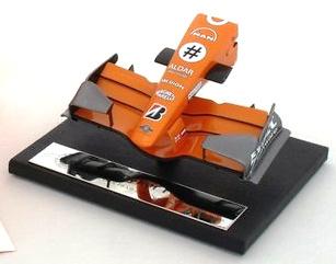 Spyker F8-VII Frontal Monoplaza (2007) Amalgam 1/12