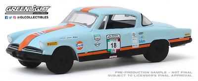 Studebaker Champion Gulf Oil nº 18 (1953) - La carrera panamericana de (2018) Greenlight 1/64