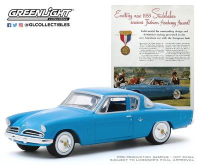 Studebaker Commander (1953) Greenlight 1/64