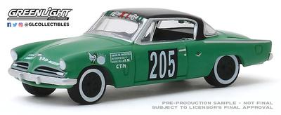 Studebaker Commander nº 205 (1953) - La carrera panamericana de (1954) Greenlight 1/64