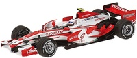 Super Aguri SA07 nº 23 Anthony Davison (2007) Minichamps 1/43