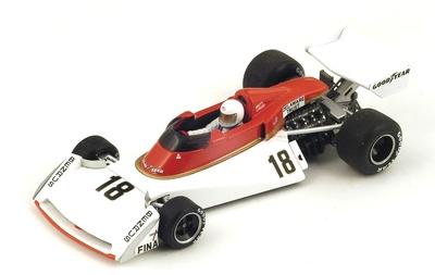 """Surtees TS19 """"GP. Gran Bretaña"""" nº 18 Brett Lunger (1976) Spark 1:43"""