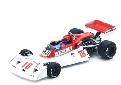 "Surtees TS19 ""GP. Japón"" n° 18 Noritake Takahara (1976) Spark 1:43"