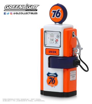 """Surtidor de gasolina Wayne """"Union 76"""" Greenlight 1/18"""
