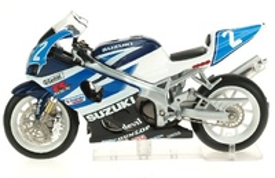 Suzuki GSX-R nº 2 J.M. Bayle - S. Gimbert - N. Dussauge () Altaya 1/24
