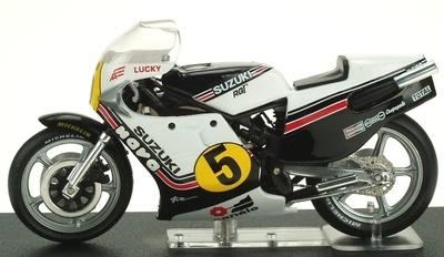 Suzuki RGV500 nº 5 Marco Lucchinelli (1981) Altaya 1/24