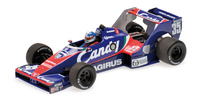 "Toleman Hart TG183 ""GP. Holanda"" nº 35 Derek Warwick (1983) Minichamps 1:43"