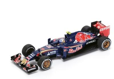 """Toro Rosso STR10 """"GP. Malasia"""" nº 55 Carlos Sainz (2015) Spark 1:43"""