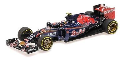 Toro Rosso STR10 nº 33 Max Verstappen (2015) Minichamps 1:43