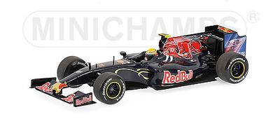 "Toro Rosso STR4 ""Show Car"" Sebastian Buemi (2009) Minichamps 1/43"