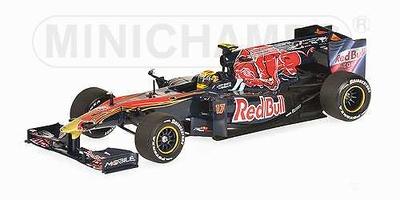 "Toro Rosso STR5 ""Showcar"" nº 17 Jaime Alguersuari (2010) Minichamps 1/43"