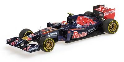 Toro Rosso STR9 nº 26 Danil Kvyat (2014) Minichamps 1:43