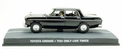 "Toyota Crown (1962) James Bond ""You Only Live Twice"" Fabbri 1/43 Entrega 56"