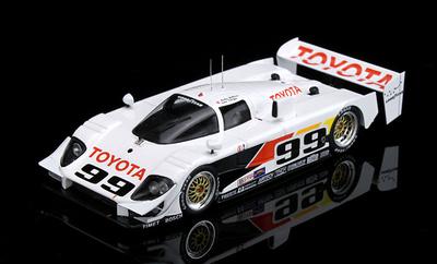 Toyota GTP Eagle MK III nº 99 vencedor 12 h. Sebring (1992) True Scale 1/43