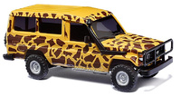 "Toyota Land Cruiser J70 HZJ78 ""Safari"" (1984) Busch 43508 1:87"