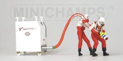Toyota Pitstop Carga Gasolina (2002) Minichamps 1/43