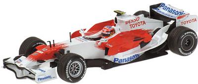 "Toyota TF108 ""Showcar"" nº 12 Timo Glock (2008) Minichamps 1/43"