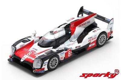 "Toyota TS050 nº 8 ""1º Le Mans"" F. Alonso S. Buemi K. Nakajima (2018) Spark 1:64"