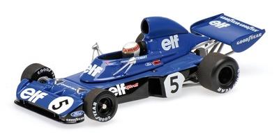 """Tyrrell 006 """"1º GP. Alemania"""" nº 5 Jackie Stewart (1973) Minichamps 1/43"""
