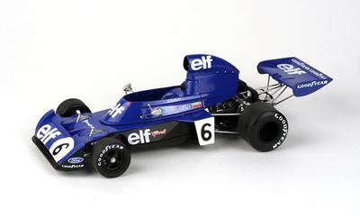 "Tyrrell 006 ""2º GP. Alemania"" nº 6 François Cevert (1973) True Scale Models 1/18"