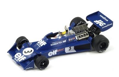 """Tyrrell 007 """"GP España"""" nº 3 Jody Scheckter (1976) Spark 1:43"""