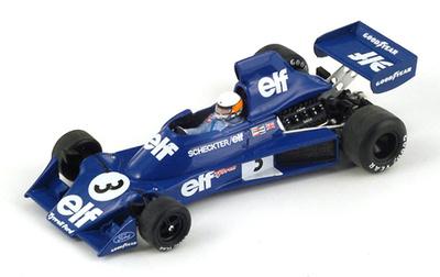 """Tyrrell 007 """"GP. Bélgica"""" nº 3 Jody Scheckter (1975) Spark 1/43"""