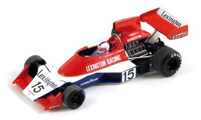 """Tyrrell 007 """"GP. Sudáfrica"""" nº 15 Ian Scheckter (1976) Spark 1/43"""