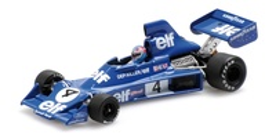 Tyrrell 007 nº 4 Patrick Depailler (1975) Minichamps 1/43