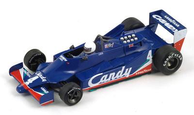"Tyrrell 009 ""GP. Alemania"" nº 4 Geoff Lees (1979) Spark 1/43"