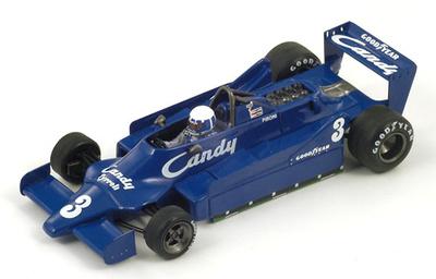 "Tyrrell 009 ""GP. Bélgica"" nº 3 Didier Pironi (1979) Spark 1/43"