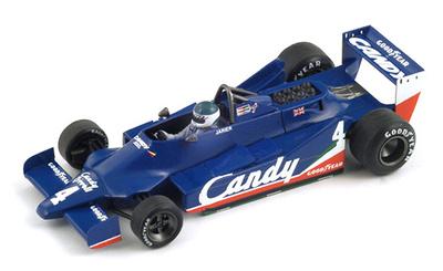 "Tyrrell 009 ""GP. Gran Bretaña"" nº 4 Jean Pierre Jarier (1979) Spark 1/43"