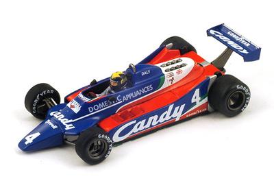 "Tyrrell 010 ""4º GP. Inglaterra"" nº 4 Derek Daly (1980) Spark S1884 1:43"