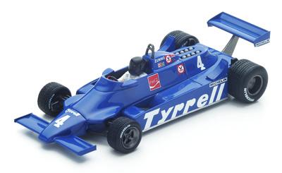 "Tyrrell 010 ""GP. Argentina"" nº 4 Ricardo Zunino (1981) Spark 1:43"